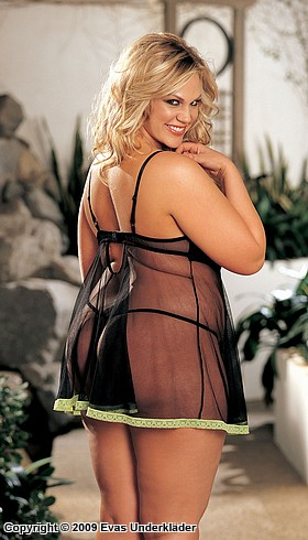 Baby doll, plus size, 3